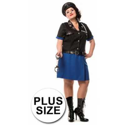 Grote maat politiejurk dames