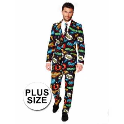 Grote maten business suit comic