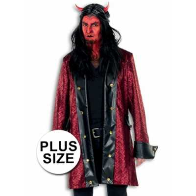Grote maten verkleed feest outfit duivel