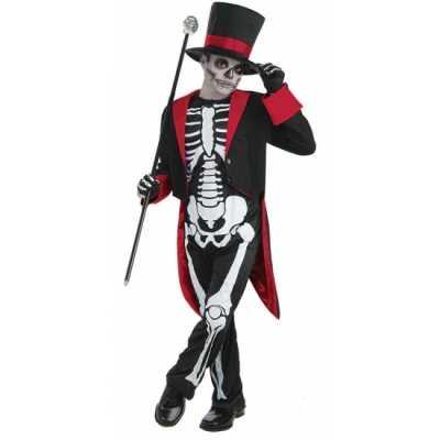 Halloween Mr. Bone Jangles feest outfit kinderen