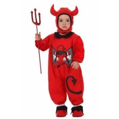 Halloween outfit kinderen duiveltje
