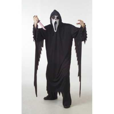 Halloween scream feest outfit grote maat