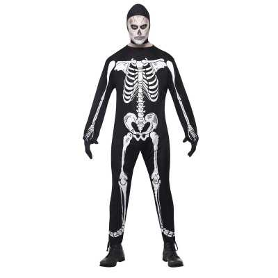 Halloween skelet feest outfit volwassenen