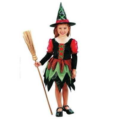 Heksen carnavalskleding meisje