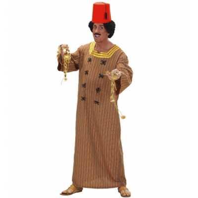 Heren feest outfit marrokaans bruin