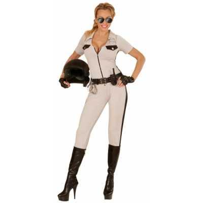 Highway politie beige outfit dames