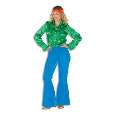 Hippie broek blauw dames