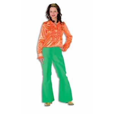 Hippie broek groen dames