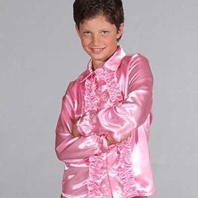 Hippie rrouges blouse kinderen roze