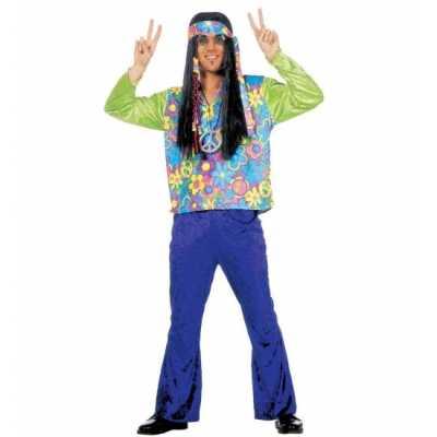 Hippie verkleedkleding heren