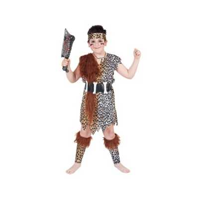 Holbewoner verkleed outfit kinderen