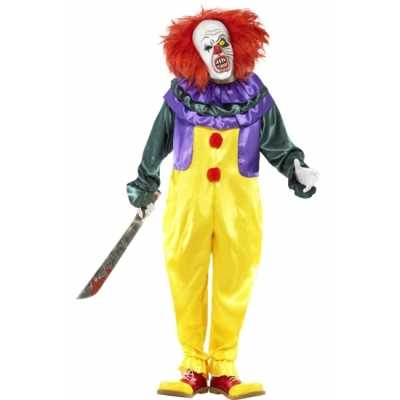 Horror It clown feest outfit