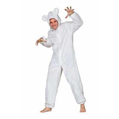 Ijsberen outfitje volwassenen