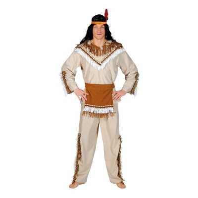 Indiaan adahy verkleed feest outfit heren