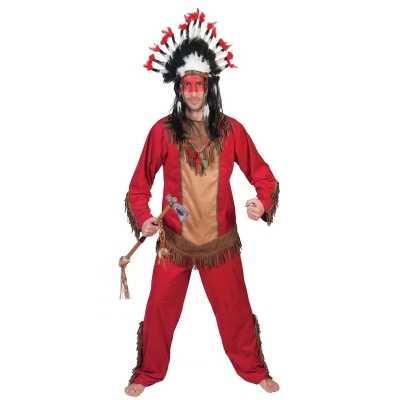 Indiaan lootah verkleed feest outfit heren