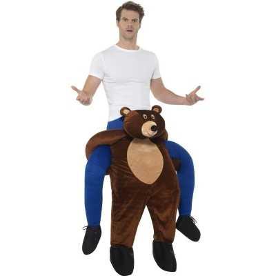 Instap dierenkostuum beer volwassenen