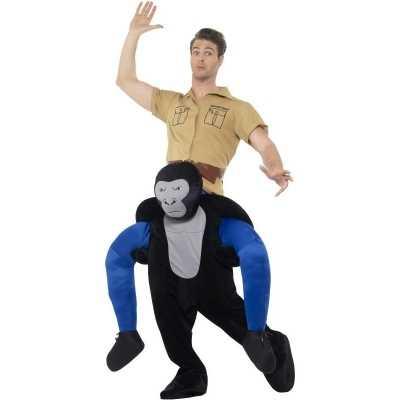 Instap dierenpak feest outfit gorilla volwassenen