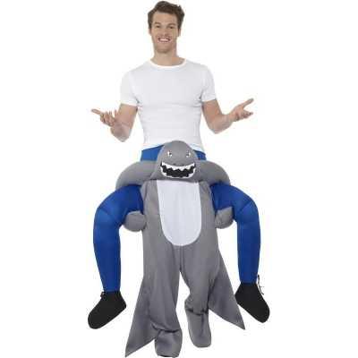 Instap dierenpak feest outfit haai volwassenen