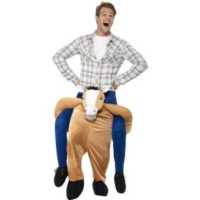 Instap dierenpak feest outfit paard volwassenen