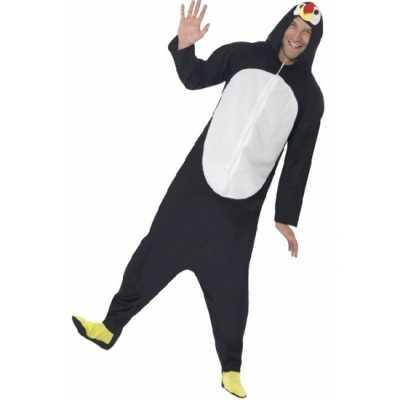 Jumpsuit pinguin all one volwassenen