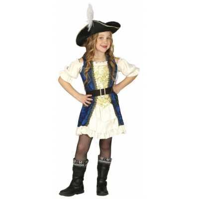 Kapiteinspak piraat meisjes