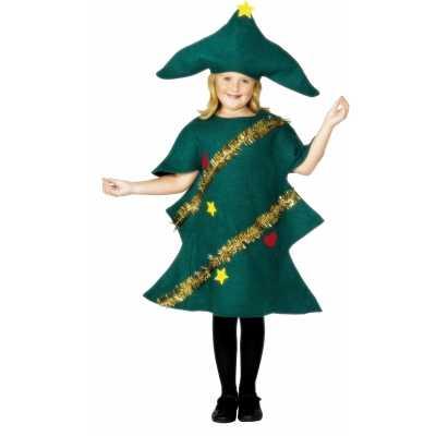 Kerstboom feest outfits kinderen