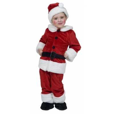 Kerstman feest outfits kinderen