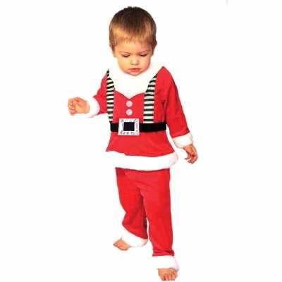 Kerstmannen outfit peuters
