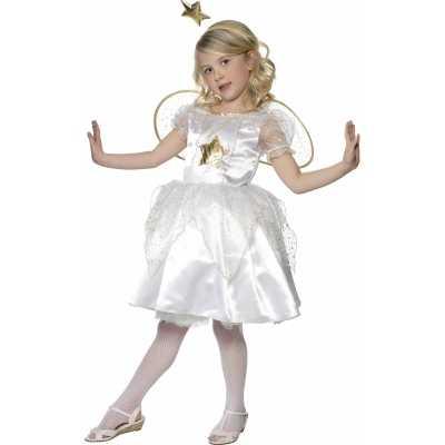 Kerststal feest outfit engel jurkje