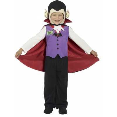 Kids vampier feest outfit cape