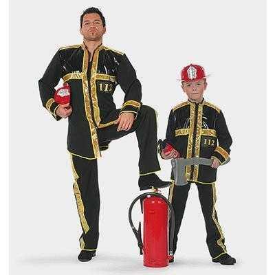 Kinder brandweer outfit