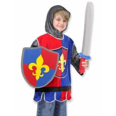 Kinder feest outfit ridder