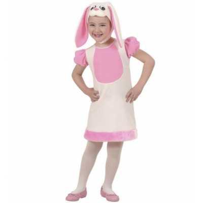 Kleuter feest outfit konijntje