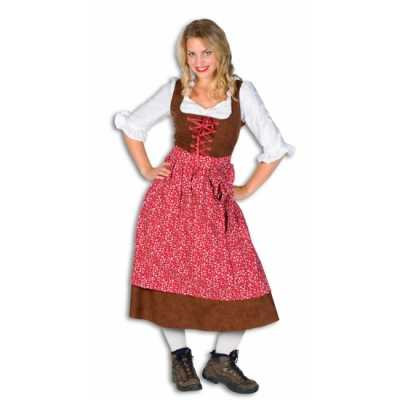 Lang tiroler feest outfit dames