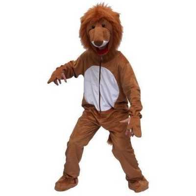 Leeuwen outfit bruin