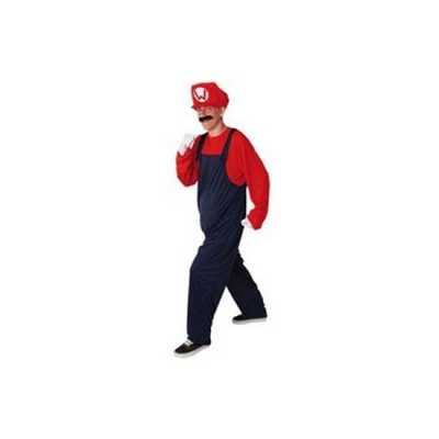 Loodgieter feest outfit rood heren
