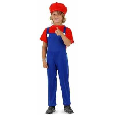 Loodgieter feest outfit rood jongens