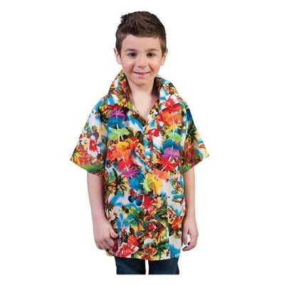 Luau hawaii blouse kids