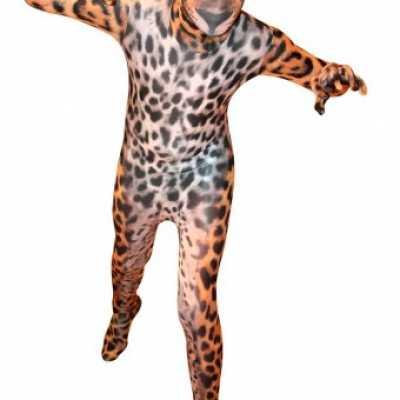 Luipaarden morphsuits kids