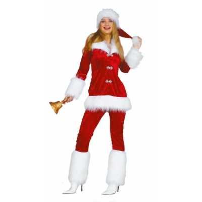Luxe dames outfit de kerst