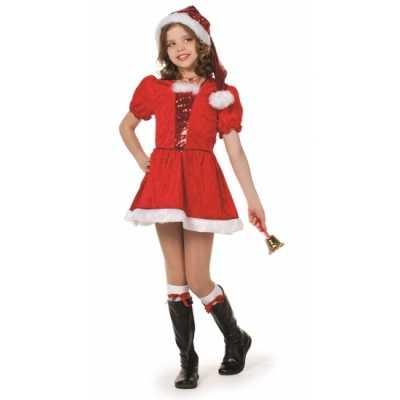 Luxe kerst jurk meisjes