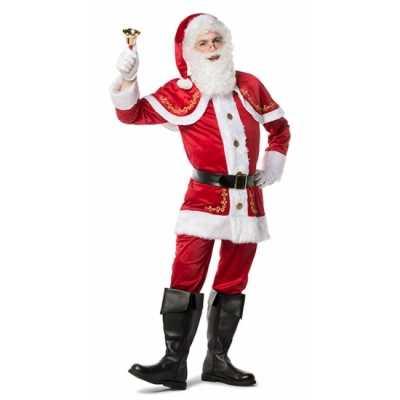 Luxe kerstman outfit heren
