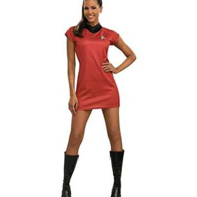 Luxe Star Trek jurkje rood