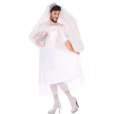 Man bruid fun verkleed feest outfit heren