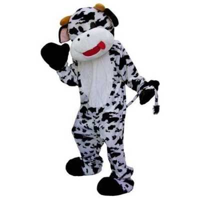 Mascotte outfit koe