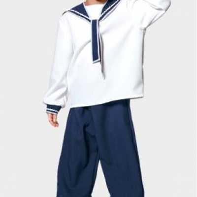 Matrozen outfit kinderen
