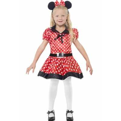 Meisjes Minnie Mouse feest outfit