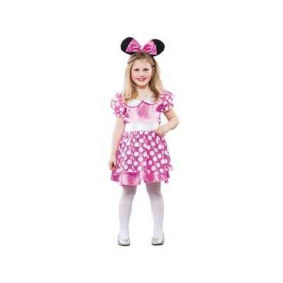 Meisjes roze muis feest outfit