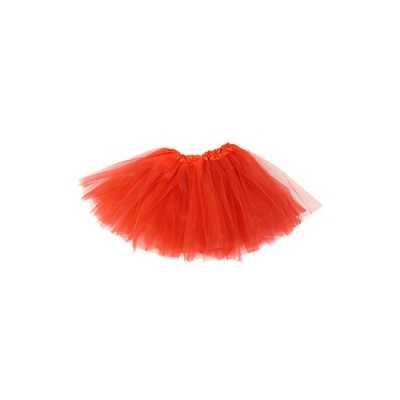 Meisjes verkleed rokje rood