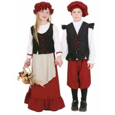 Middeleeuws meisjes feest outfit